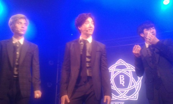 SOuvenir d'un super concert BOYS REPUBLIC 2015 à PARIS