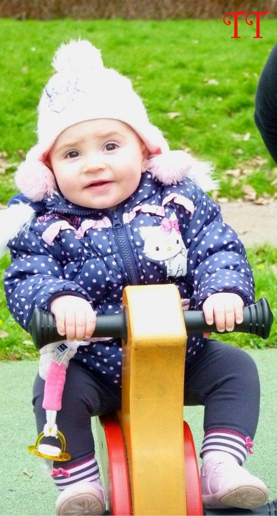 On s'amuse trop bien quand on est au parc !!!