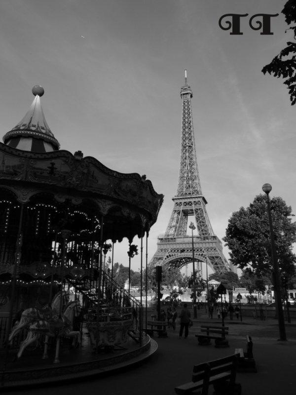 Photo de la Tour Eiffel.