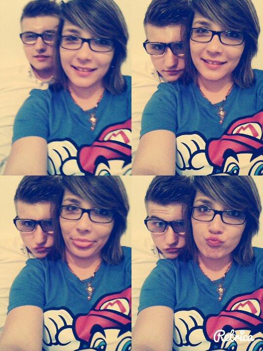 Mon amour, le mien, le mieux.          Je t'aime fort ma vie. ♡♡