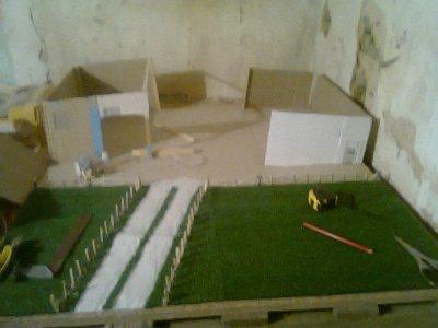 deuxième miniature en construction