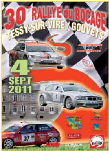 A fiche du rallye de bocage 2011