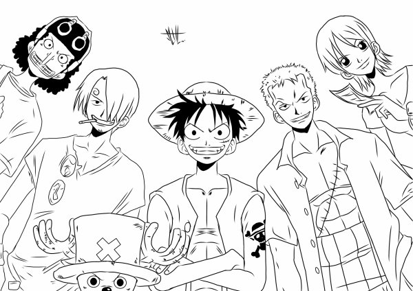 Dessin Facile One Piece