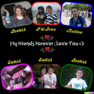 My Friiends Forever <3