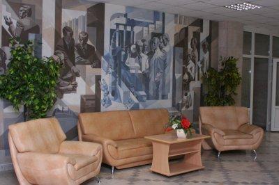 Les couloirs de l'Université Technologique