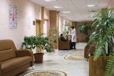 Infirmerie : hall d'entrée