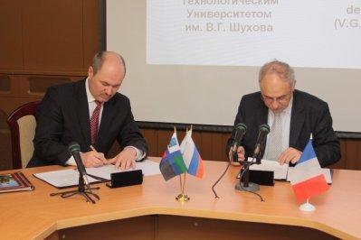 Signature d'accord de coopération pour de futurs échanges universitaires selon les spécialités respectives