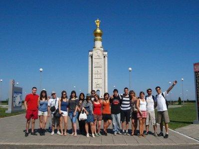 Stage de la langue russe pour étudiants Français - Juillet 2011