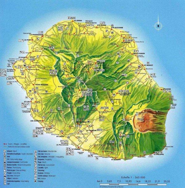 .  Bienvenue à l'île de La Réunion : l'île à grands spectacles !!!  .