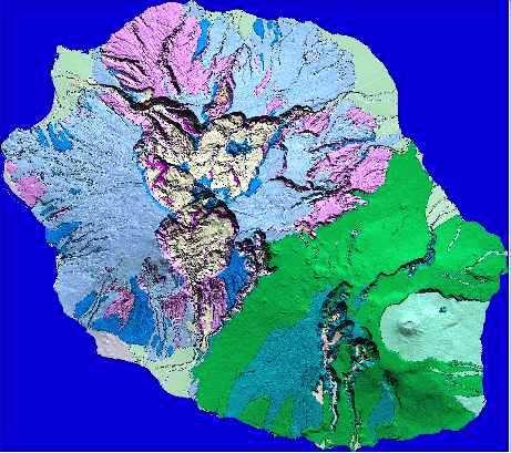 Naissance et évolution géologique de l'île