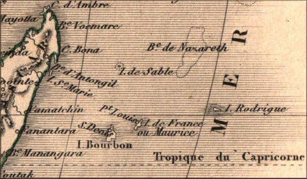 """1512 : découverte de """" l'île de La Réunion """" !!"""