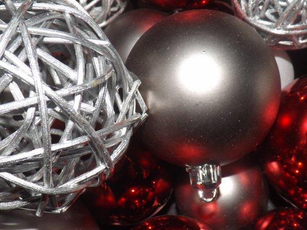 Boules de Noël.