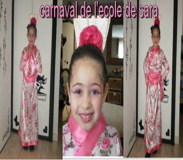 carnaval a l'ecole de sara 18/02/11