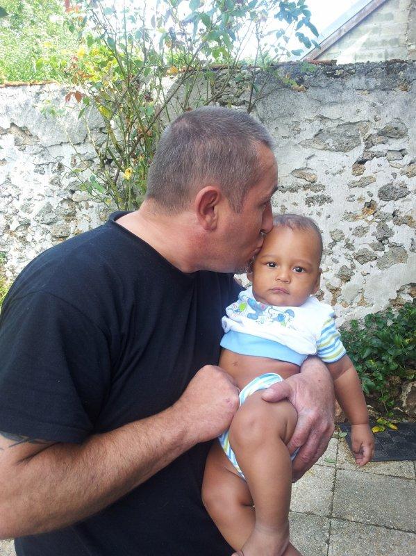 mon fils kevin et johan ma belle fille et mon petit fils kaliss