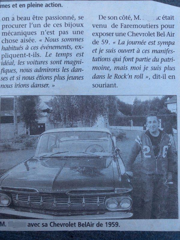 mon bel air 1959