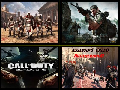 Call of duty black ops et Assassin'S CreeD BrotherhooD