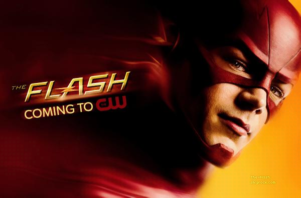 ϟ Découvrez la bande annonce officielle de The Flash qui sera diffusée cet Automne.