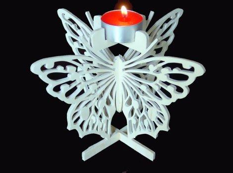 Papillon de lumière