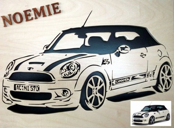 En voiture Simone... oups NOEMIE