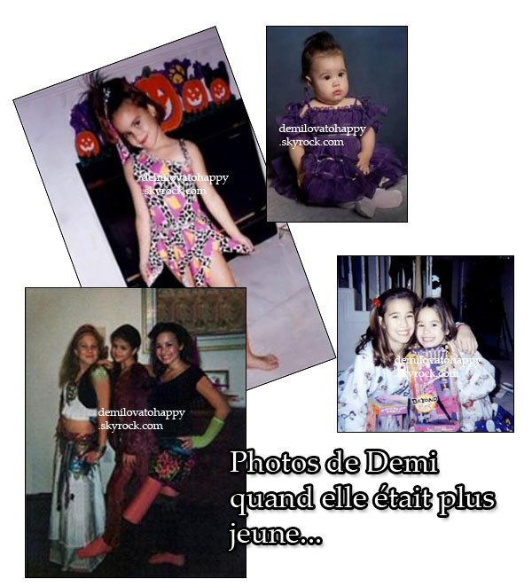 - Photo de Demi plus jeune + Une nouvelle photo de Demi    -