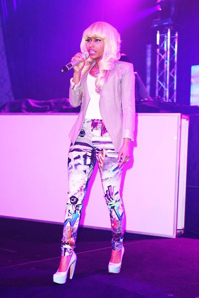 Nicki Minaj at the NBPA All-Star Gala