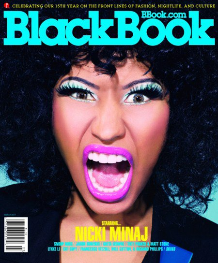 Nicki IN BlackBook !