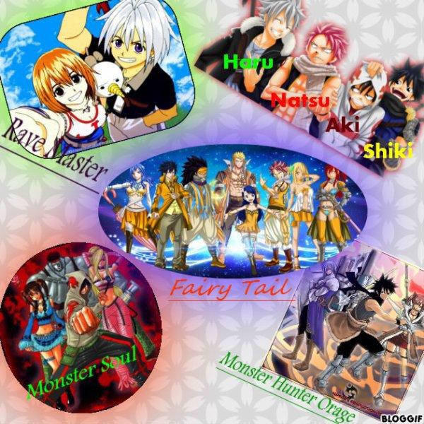 Le monde des Manga