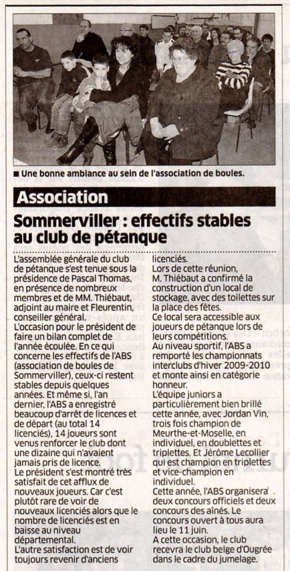 Adieu 2010 bonjour 2011