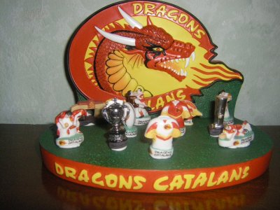 ma collection : dragons catalans 2011