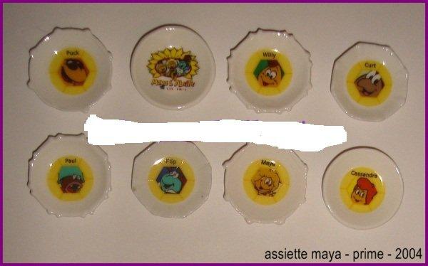 recherche assiette maya l'abeille