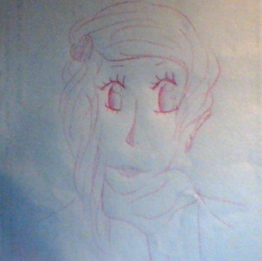 je viens de faire ce dessin...