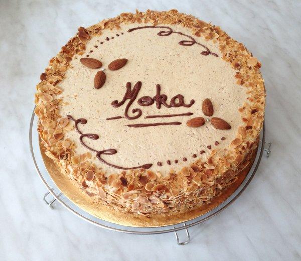 Gâteau moka, spéculoos
