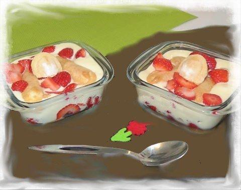 Tiramisu à la fraise *
