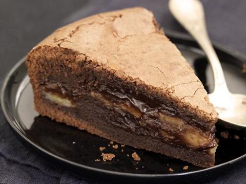 Recette Gâteau fondant chocolat banane
