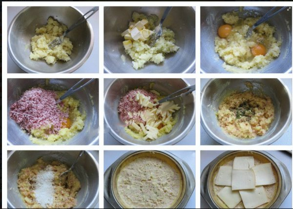 Galette de pomme de terre à la raclette *