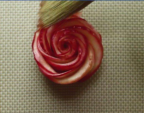 La rosace de pomme