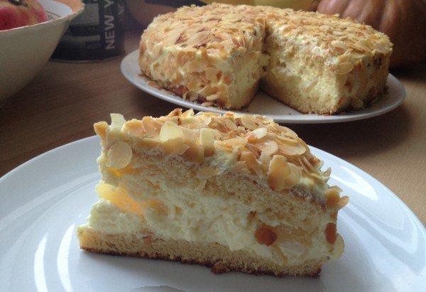 Gâteau Crème Mousseline Ananas