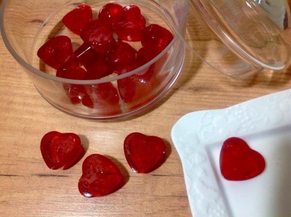 Bonbons c½ur pour la Saint Valentin avec le Cooking chef.