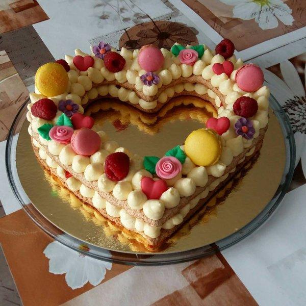 Gâteau pour la Saint valentin de mon Loulou