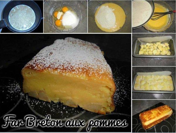 ***Far Breton aux Pommes***