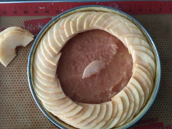 Une tarte digne d'une pâtisserie:La tarte aux pommes