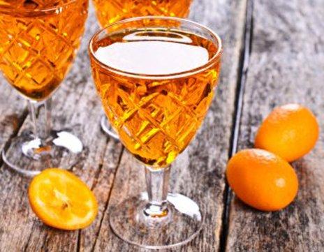 Liqueur du pendu (digestif ) avec les mandarines