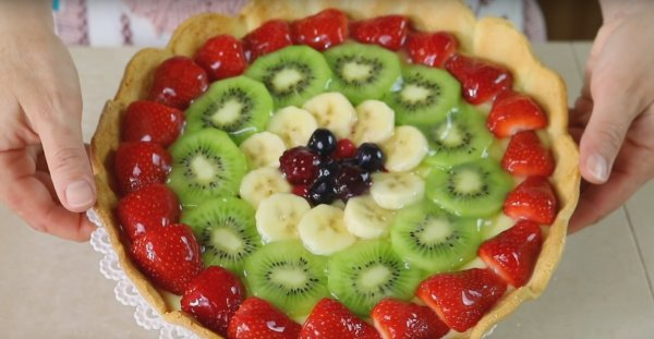 Tarte sablé aux fruits