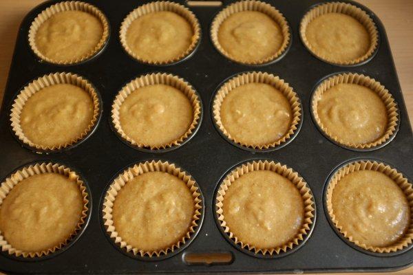 Muffins à la compote de pomme