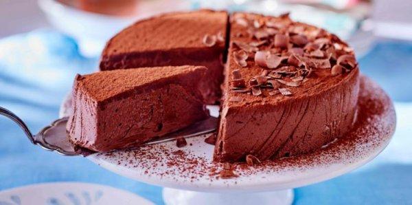 Fondant chocolat sans farine et sans cuisson