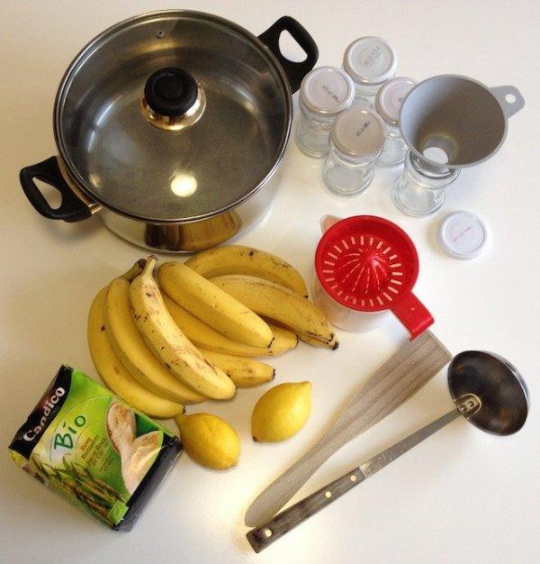 Confiture de bananes :