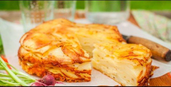 Gâteau de pommes de terre..