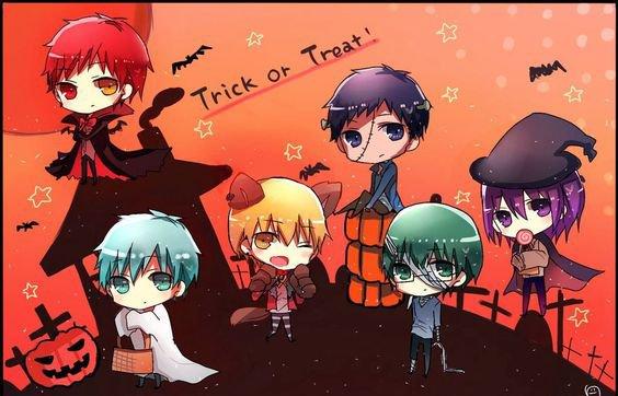 OS Happy Halloween Kuroko no Basket/Assassination Classroom