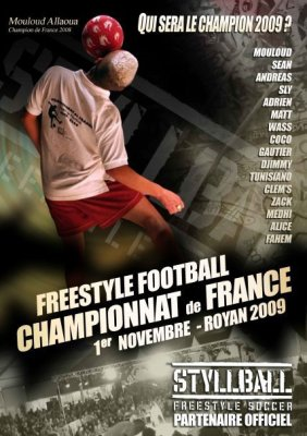 CHAMPIONNAT DE FRANCE DE FOOTBALL FREESTYLE ROYAN 2009