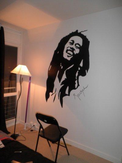 Dinguerie sur le mur de ma chambre :)